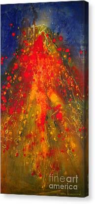 Cosmic Rebirth Canvas Print