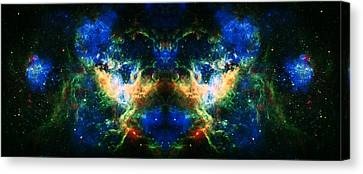 Cosmic Reflection 2 Canvas Print by Jennifer Rondinelli Reilly - Fine Art Photography