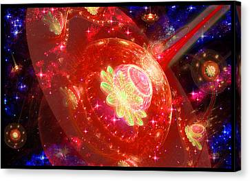 Cosmic Space Station 2 Canvas Print