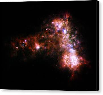 Cosmic Spark Canvas Print by Jennifer Rondinelli Reilly - Fine Art Photography