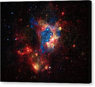 Cosmic Super Bubble Canvas Print by Jennifer Rondinelli Reilly - Fine Art Photography