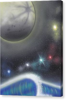Cosmic Wave Canvas Print by Christopher Soeters