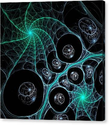 Cosmic Web Canvas Print by Anastasiya Malakhova