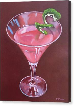 Lime Canvas Print - Cosmopolitan by Elisabeth Olver