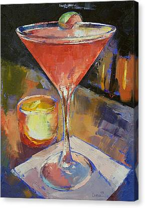 Candle Lit Canvas Print - Cosmopolitan by Michael Creese