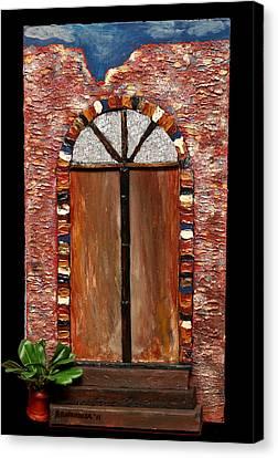 Costa Rican Doorway Canvas Print