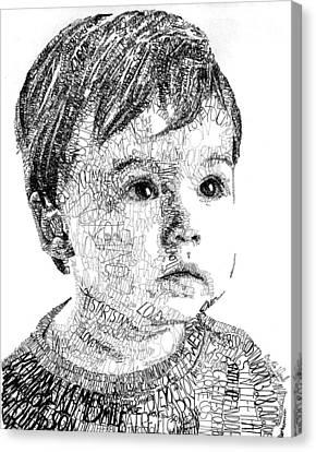 Costin Boy Canvas Print by Michael Volpicelli