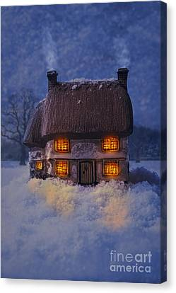 Cosy Country Cottage Canvas Print