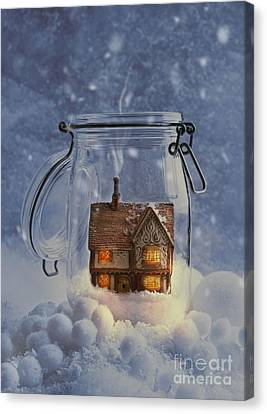 Cosy Home Canvas Print by Amanda Elwell