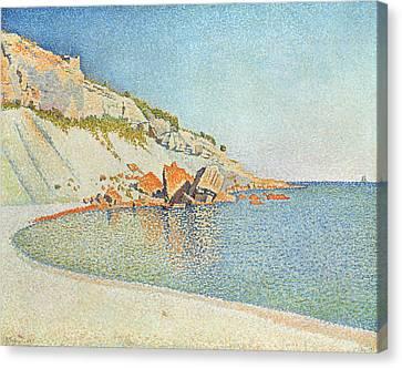 Cote D'azur Canvas Print by Paul Signac