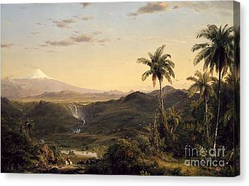 Cotopaxi Canvas Print by Celestial Images