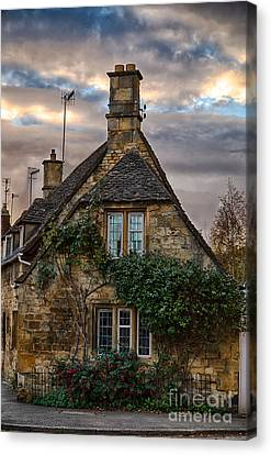 Cotswold Cottage Canvas Print by Jennifer Styrsky