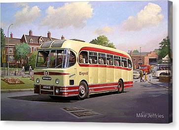 Cotswold Tour 1957 Canvas Print by Mike  Jeffries