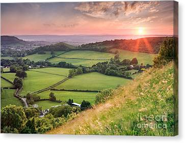 Cotswolds 2 Canvas Print by Rod McLean