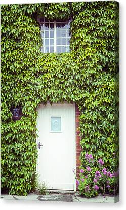 Cottage With Ivy Canvas Print by Joana Kruse