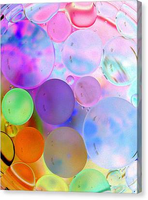 Cotton Candy Bubbles Canvas Print