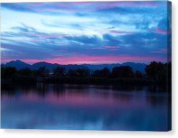 Cotton Candy Sky  Canvas Print by James  Brown