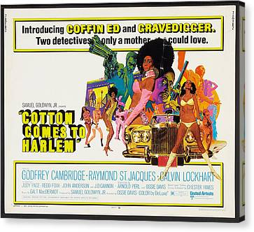 Cotton Comes To Harlem Poster Canvas Print