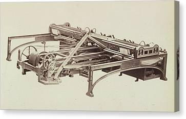 Machinery Canvas Print - Cotton Machinery by British Library