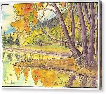 Cottonwood Cove Canvas Print