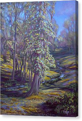 Cottonwoods Canvas Print by Charles Smith