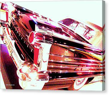Could You Add Some More Chrome Canvas Print by Don Struke