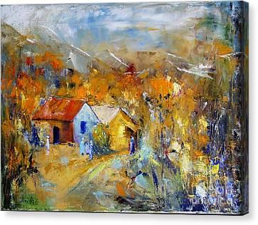 Couleurs D'automne Canvas Print