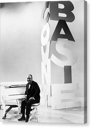 Count Basie (1904-1984) Canvas Print by Granger