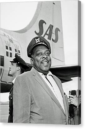 Basie Canvas Print - Count Basie 1950s by Mountain Dreams