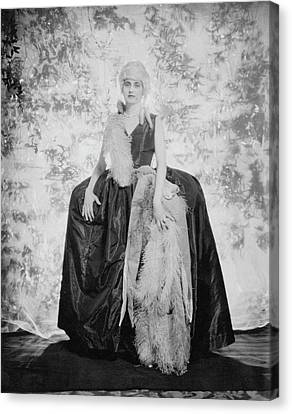 Villa Canvas Print - Countess Alfonso Villa As The Duchess by Edward Steichen