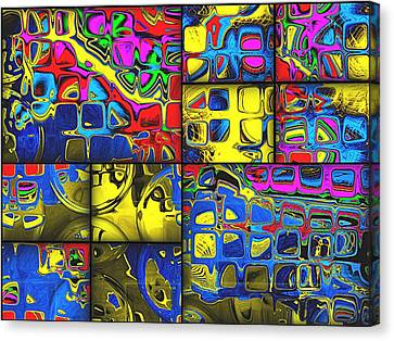Counting Colors Canvas Print by Wendy J St Christopher