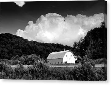 Country Barn Canvas Print by Shane Holsclaw