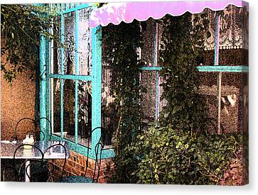 Country Cafe Canvas Print