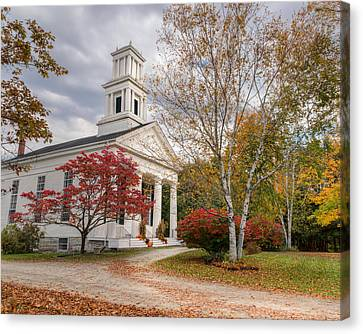 Country Chapel Canvas Print by Bill Wakeley