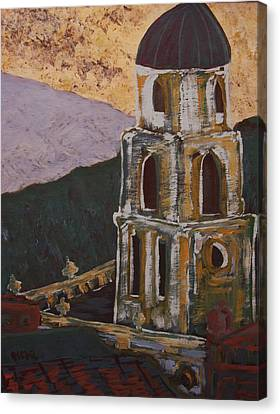 Country Church II Canvas Print by Oscar Penalber