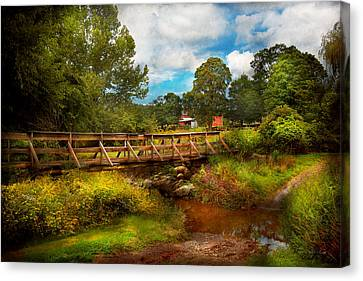 Country - Country Living Canvas Print by Mike Savad