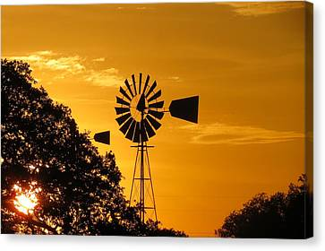 Country Ending Canvas Print