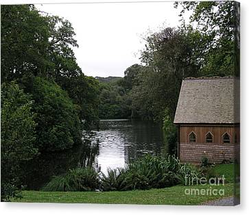 Canvas Print featuring the photograph Country Estate by Bev Conover