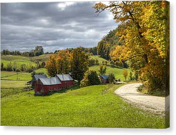 Country Farm Canvas Print