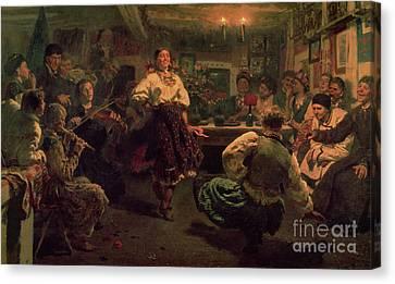 Dgt Canvas Print - Country Festival by Ilya Efimovich Repin