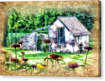 Country Garden Canvas Print by Bill Cannon