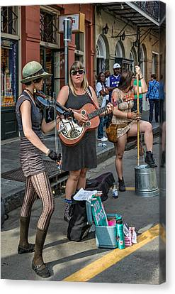Country In The French Quarter Canvas Print by Steve Harrington
