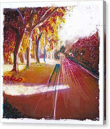 Country Lane 2 Canvas Print