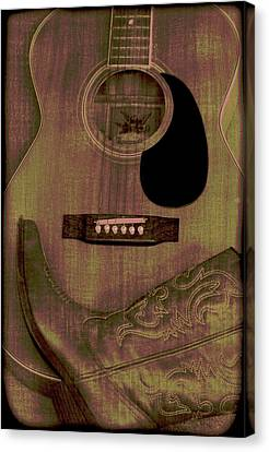 Country Music Canvas Print by Dan Sproul