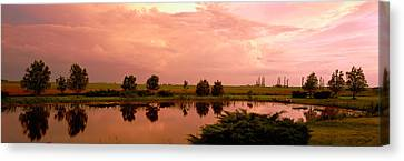 Country Pond Il Usa Canvas Print by Panoramic Images