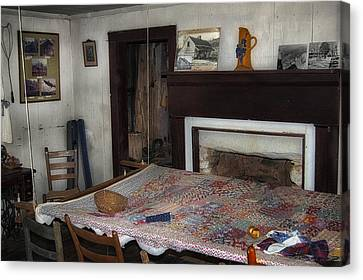 Country Quilting Ca. 1930s Canvas Print