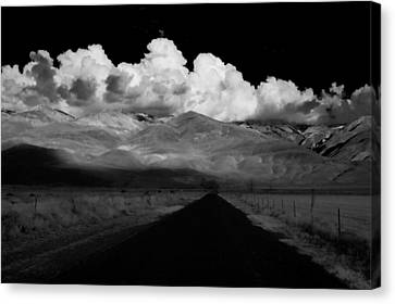 Country Road Canvas Print by Cat Connor