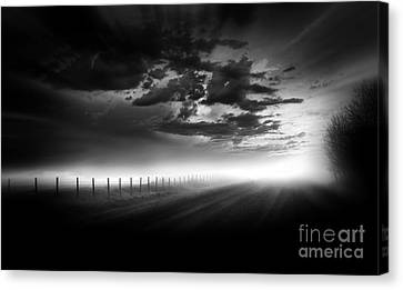 Country Road Canvas Print by Dan Jurak
