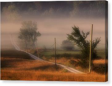 Country Road Canvas Print by Jim Vance