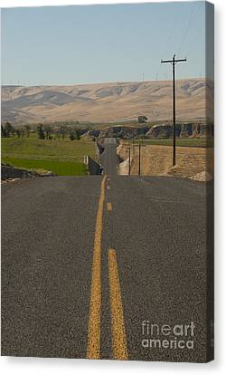 Country Road Canvas Print by Juli Scalzi